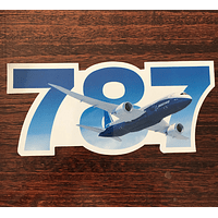 STICKER BOEING 787
