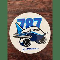 STICKER CIRCULAR B787