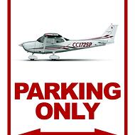 CARTEL PILOT PARKING ONLY