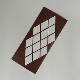 Vinilo Stencil Swatch - Diamante