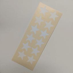 Vinilo Stencil Swatch - Estrellas