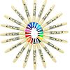 Artline - Brush Marker Azul