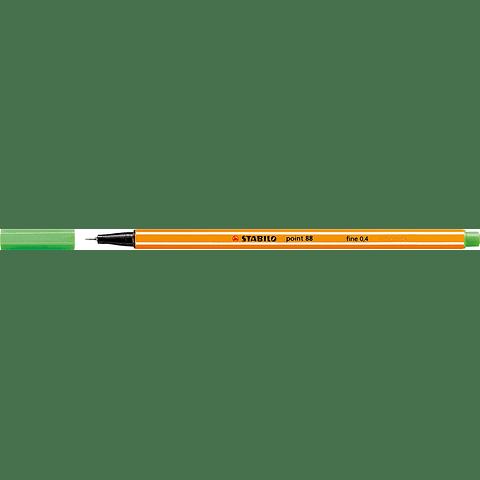Stabilo - Point 88 Fineliner 43 Verde Claro