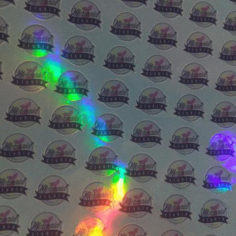 Adhesivos Holográficos con Logo