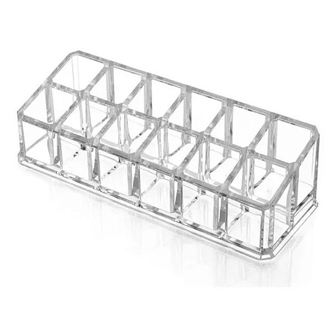 Organizador Acrílico de 12 Compartimentos