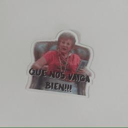 Sticker Que Nos Vaiga Bien