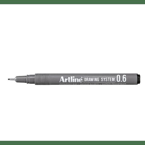 Artline - Lápiz Tiralínea Negro 0.6 mm