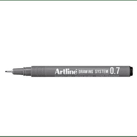 Artline - Lápiz Tiralínea Negro 0.7 mm