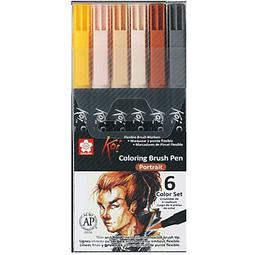 Koi - Coloring Brush Pen Set Portrait