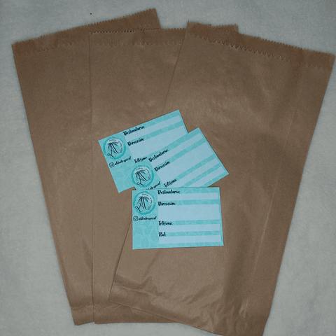 Pack Emprendedor 4: Bolsas Kraft y Etiquetas para Envíos