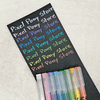 Artline - Calligraphy Pen Pastel Naranjo 3mm