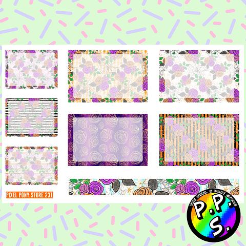Lámina de Stickers 231 Box Halloween Soft