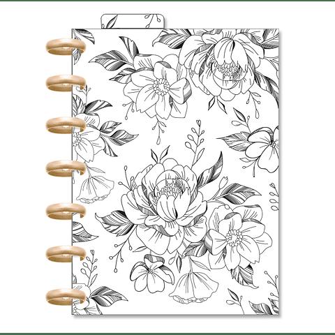 Planner Cora Mini - Flower White