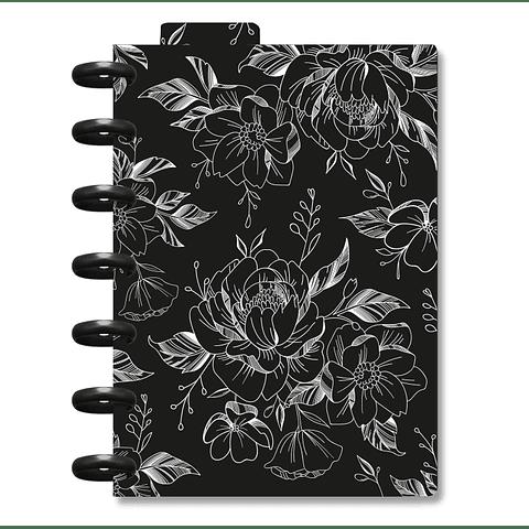 Planner Cora Mini - Flower Black