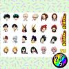 Lámina de Stickers 243 Boku no Hero