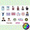 Lámina de Stickers 248 Harry Styles