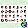Lámina de Stickers 251 Mafalda