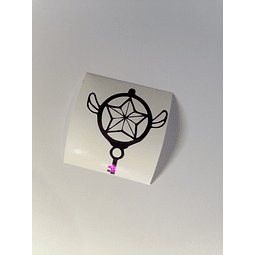 Vinilo Adhesivo Sakura Card Captor - Key
