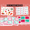 Set Láminas de Stickers Navidad