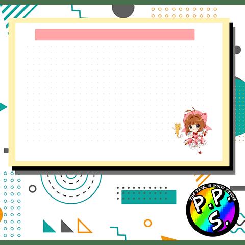 Flash Card - Sakura Card Captor