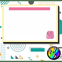 Flash Card - Instax Mini Rosa