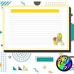 Flash Card - Homero Simpson