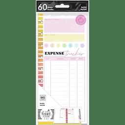 Savvy Saver Classic Half Sheet Filler Paper - Budget Tracker