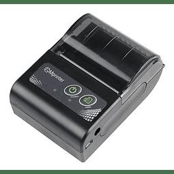 Mini Impresora Térmica Bluetooth + 15 Rollos de Papel
