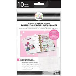 Mini Clear Sticker Planning Guide