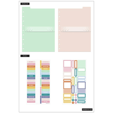 Daily To-Do's Classic Dashboard Stickers