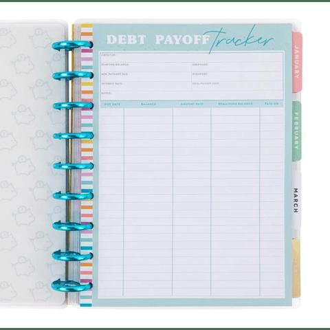 Savvy Saver Classic Wet Erase Dashboard – Budget Tracker
