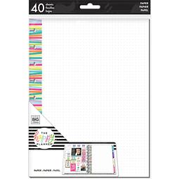 Multi Stripe Dot Grid Fill Paper - Classic