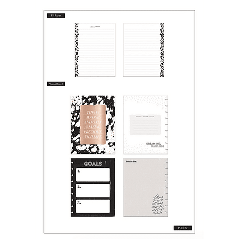 Classic Planner Companion - Wild Styled