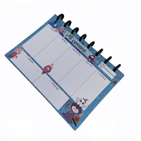 Planificador Semanal - Harry Potter