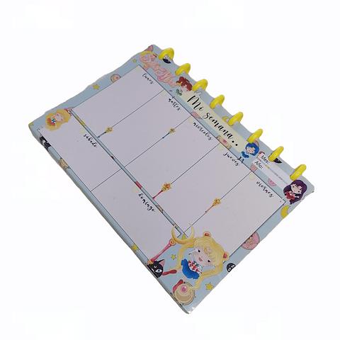 Planificador Semanal - Sailor Moon