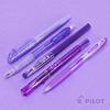 Pilot - Set de 5 Lápices Variedad en Violeta + Estuche