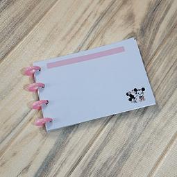 Flascard de Discos - Mickey y Minnie
