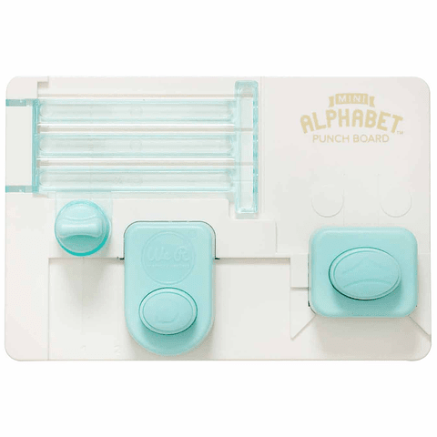 Mini Alphabet Punch Board