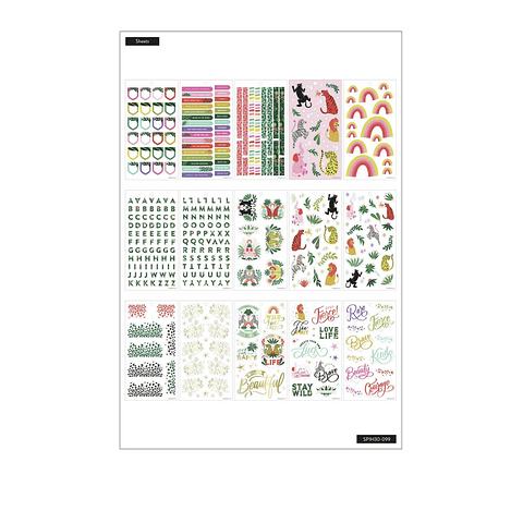 Value Pack Stickers - Jungle Vibes