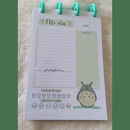 Planificador Diario A6 - Totoro