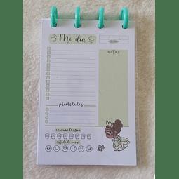 Planificador Diario A6 Princesas - Tiana