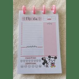 Planificador Diario A6 - Mickey & Minnie