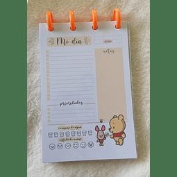 Planificador Diario A6 - Winnie the Pooh