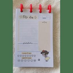 Planificador Diario A6 - Princesas - Blancanieves