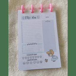 Planificador Diario A6 - Princesas - Cenicienta