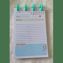 Libreta de Notas A6 - Enfermera 2