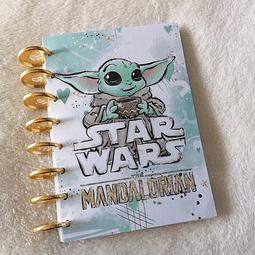 Cuaderno A5 - Star Wars - The Mandolarian Baby Yoda