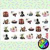 Lámina de Stickers 09 Mario Kart