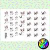 Lámina de Stickers 36 Sweet Chi
