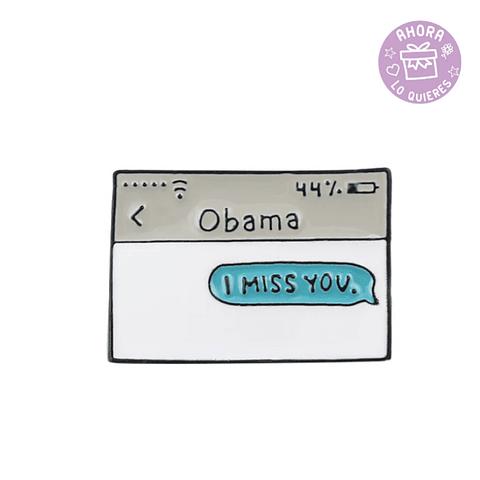 Pin Obama